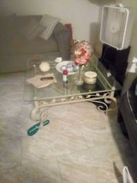 a coffee table. and side table