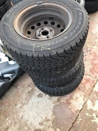 Goodyear winter tires with Rim (set of 4) 543 km