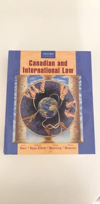 Canadian and International Law Textbook Toronto, M3C 4C4