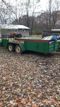 Wood hauling trailer  Coral, 49322