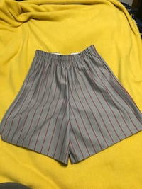 Ladies Grey and Red Size 28 Shorts