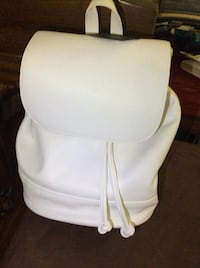 New Forever 21 white leather backpack Yonkers, 10705