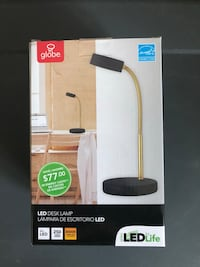 Globe LED Desk Lamp Unopened