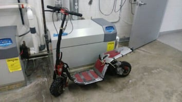 GAS SCOOTER BY MOTOVOX