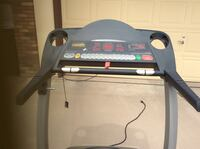 grey and  black treadmill