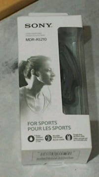 Sony sport earbuds new in box they go for $30 in store Surrey, V3W 3H3