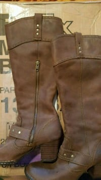 Born Brown Suede Boots, Size 6, great shape, worn  Newton, 02461