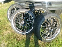 "22"" rims with tires Plant City, 33565"