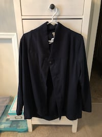 Authentic LuluLemon Cardigan/Jacket-Navy Surrey, V3Z 1E3