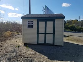 Used 8x10 vinyl shed