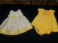 18 month cute Easter dresses 10$ for both Redding