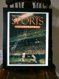 Framed Sports Illustrated First Cover Reproduction Centreville, 20120