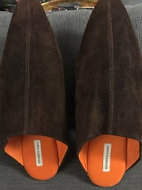 Hermes suede and leather mules Mississauga, L5V 1S3