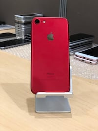 Product Red iPhone 7 with box Boston, 02116