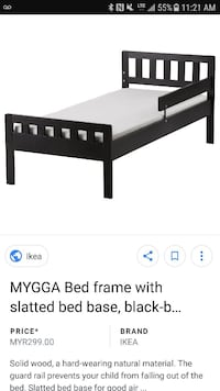 Children bed 3-7 years old