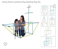 Antsy Pants Limitless Play Build & Play Kit Mississauga, L5J 4H3