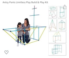 Antsy Pants Limitless Play Build & Play Kit
