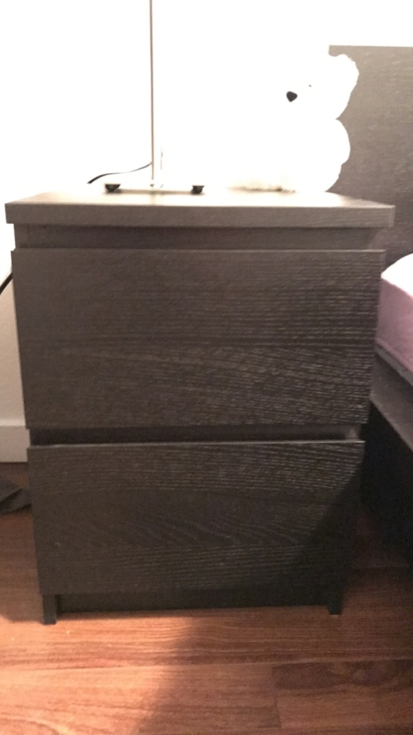 2 brand new IKEA bed side tables