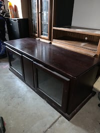 Wood Entertainment Stand Merced, 95348