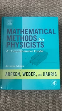 Mathematical methods for physicists Boston, 02134