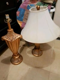 Brass lamps .set for 40.00 Mississauga, L5A