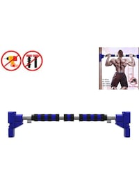 Telescoping pull up bar 90 - 120 cm