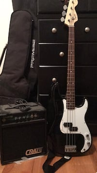 New Bass  Guitar and amp 29 km