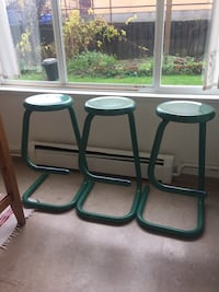 Vintage Haworth K700 Paperclip High Bar Stool with Foot Rest Vancouver, V5N 4E6