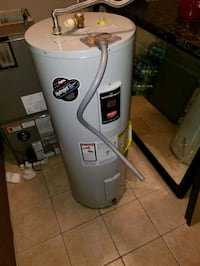 6 WEEKS OLD RUUD A/C COMPRESSOR + HANDLER AND HOT WATER HEATER!!