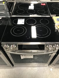 Slide-In Electric Stove St. Louis