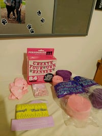 """""""Its a girl"""" party stuff"""