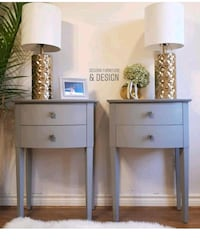 Pair Nightstands night tables new refinished Oakville, L6J
