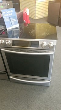 Samsung slide in front control electric stove  Randallstown