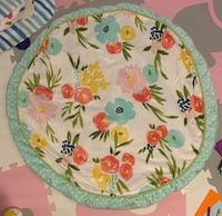 Cloud Island Round Floral Playmat Bel Air, 21015