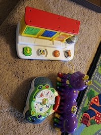 three toddler's multicolored activity musical toys Gaithersburg, 20878
