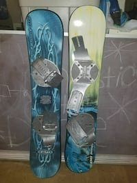 Two Pairs of snow boards (4) Portage Lakes, 44319