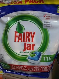 FAIRY JAR BULAŞIK TABLETİ 115Lİ