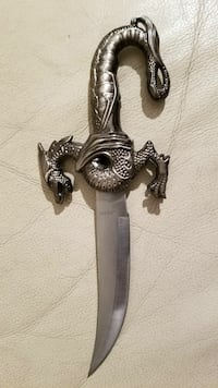Stainless Steel Mongolia Dragon knife  Los Angeles County, 91342