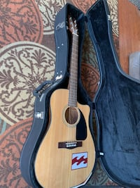 Fender acoustic guitar with built in tuner San Jose, 95008