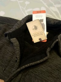 black and gray Victoria's Secret Pink jacket Calgary, T1Y 2A5