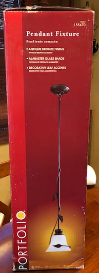 red and black torchiere lamp Rocklin, 95765