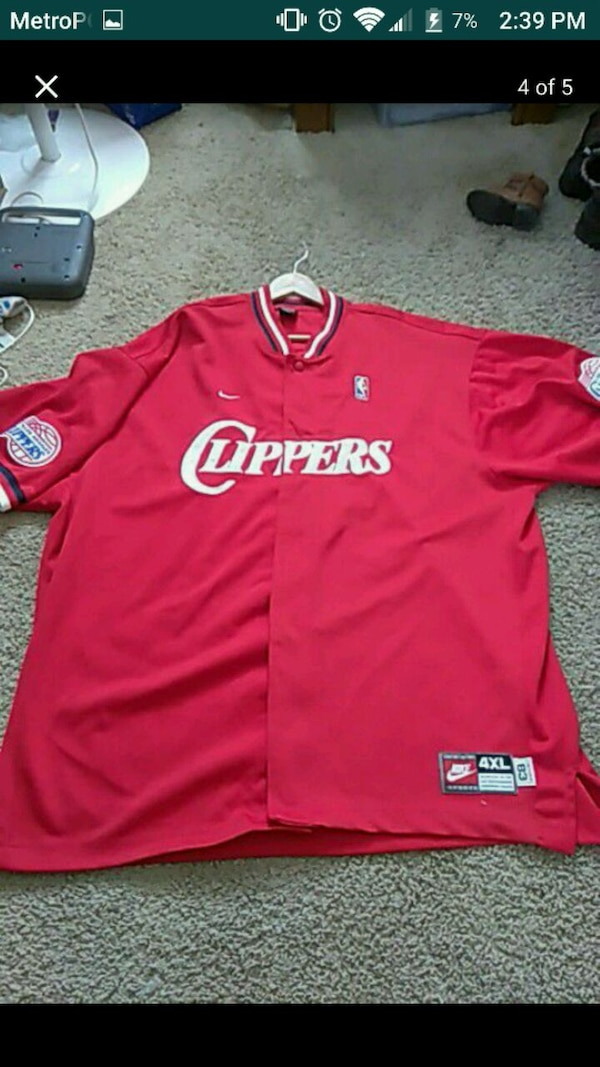 65904bdd20a Used Lamar Odom clippers jersey an warm up jersey for sale in ...