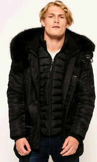 Superdry-3 Parka Coat - Black Edition   West Midlands, B21 9DH
