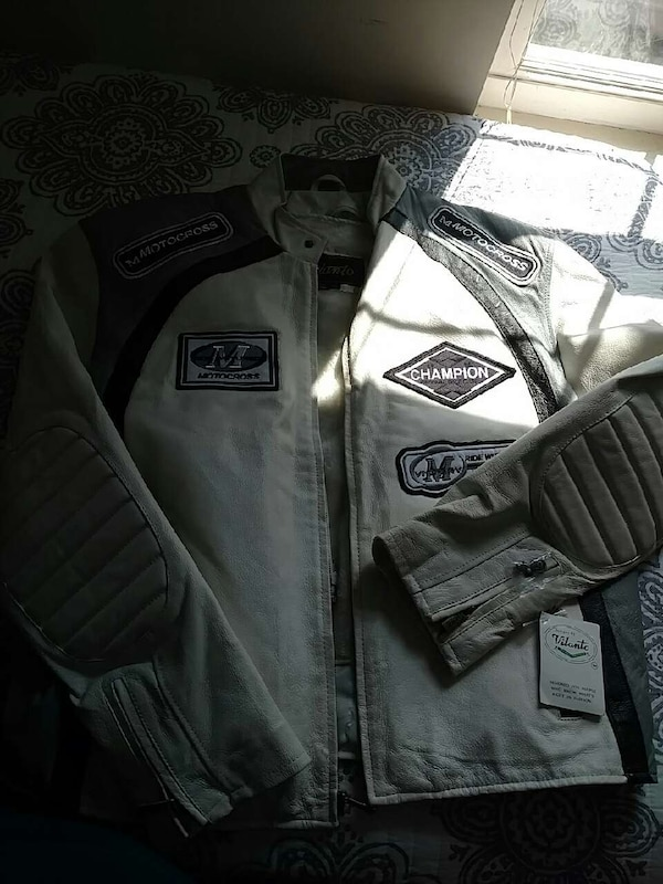 a88418447b05 Used vilanto leather motorcycle Jacket for sale in Huntington - letgo