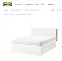 IKEA Queen bed (mattress not included) Frederick