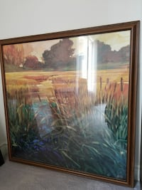 Large framed print with solid wood frame Richmond Hill, L4B 2X1