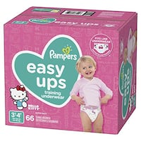 Pampers Easy Ups Pull On Disposable Potty Training