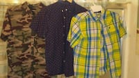 three assorted-color button-up shirts Merced, 95340