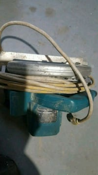 blue and gray corded power tool 3154 km