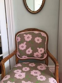 Begere chair with linen upholstery  Hamilton, L9H 5E1